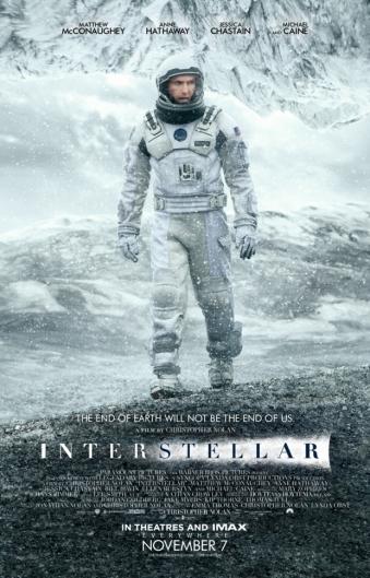 A Csillagok között (Interstellar) című film plakátja
