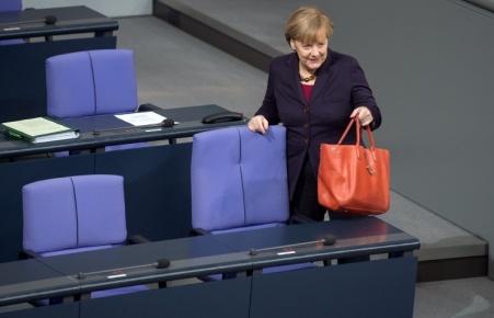 Angela Merkel német kancellár