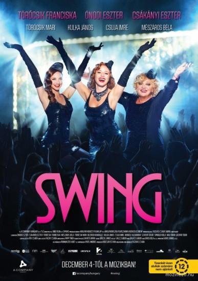 A Swing című magyar film plakátja